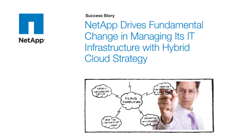 NetApp IT Hybrid Cloud Strategy
