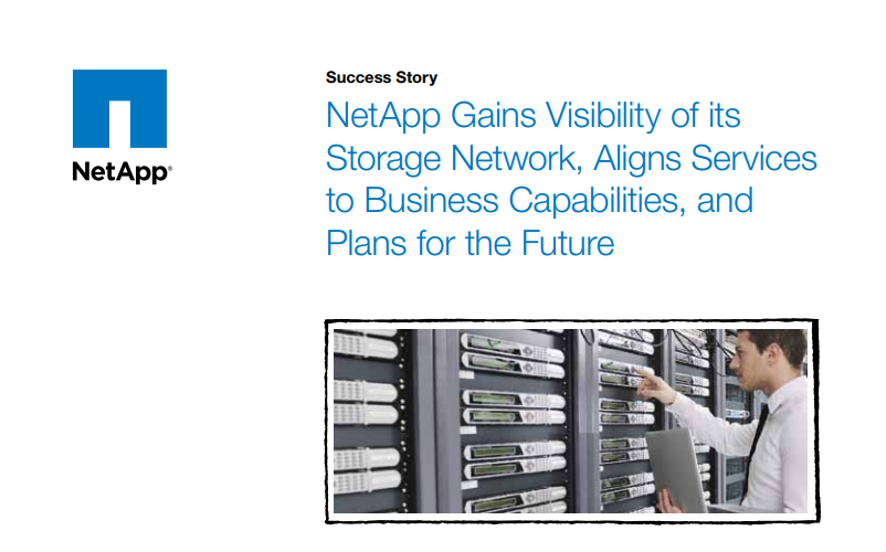 NetApp Gains Visibility of Storage Network