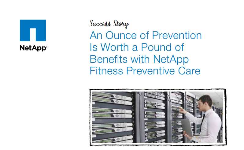 NetApp Fitness Preventative Care